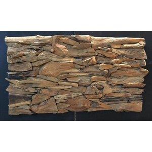 Eliassen Wandpaneel aus Holz 120x70cm