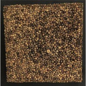 Eliassen Holzwandplatte Slice quadratisch