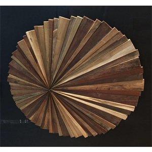 Wood Wall Panel Sun.