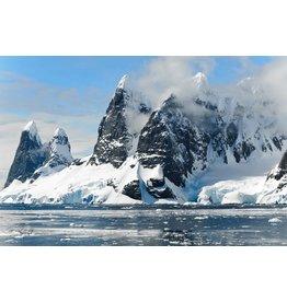 Wandkraft Wandkunst Glasmalerei Antartica 118x70cm