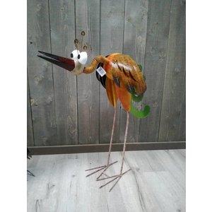 Metalen vogel Piet