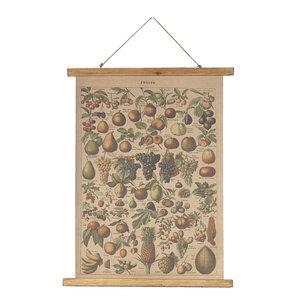 Eliassen Wall chart Fruit 55x75cm