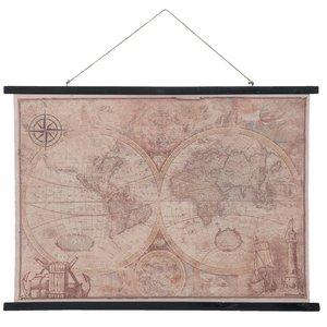 Eliassen Wall map Wereld3 105x76cm