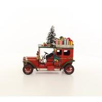 Miniature model Christmas car