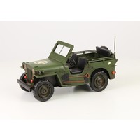Miniature model look Jeep