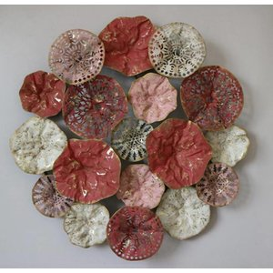 MondiArt Wall decoration 3d Reds 76cm