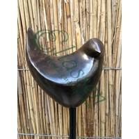 Bronze garden plug Vogel