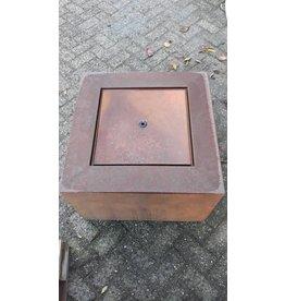 Eliassen Water table Corten steel Andrew 60x60cm