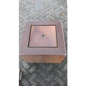 Eliassen Wassertisch Corten Stahl Andrew 60x60cm
