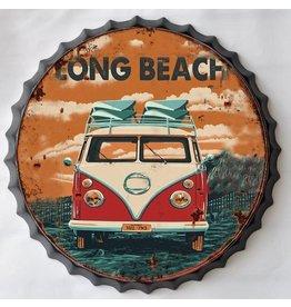 Wanddekorationen Bierflasche Kappe Long Beach