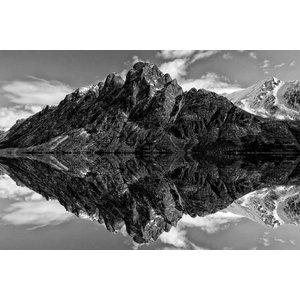 Wandkraft Glass painting Mountains 148x98cm