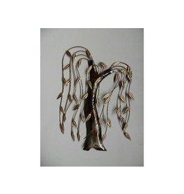 Wanddekoration Metall 3d Trauerweide