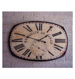 Eliassen Wall clock glass Antiquit de Paris