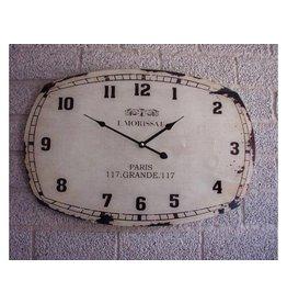 Eliassen Wall clock glass L. Morissat