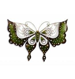 Vlinder voor tegen een muur