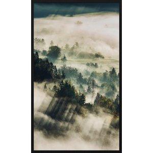 Wandkraft Gemälde Forex Gewitter 118x70cm