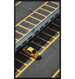 Wandkraft Painting forex Parking 118x70cm