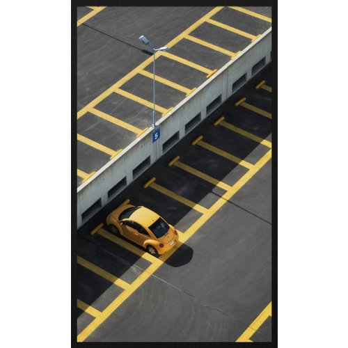 Wandkraft Painting forex Parking 118x70cm