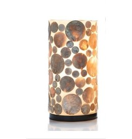 Tafellamp 30cm Coin Gold