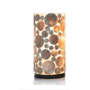 Table lamp 30cm Coin Gold