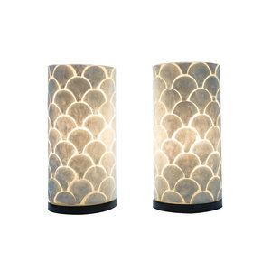 Table lamp set 30cm Kipas