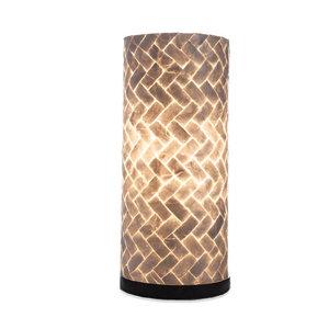 Tischlampe 40cm Zickzack