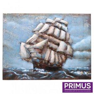 Primus 3D metal painting 60x80cm sailboat