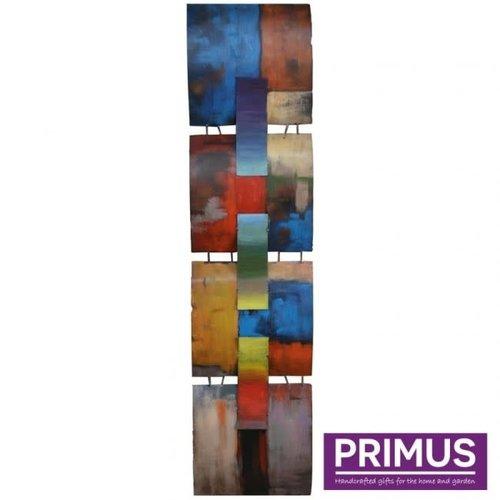 Primus 3d metal painting 31x125cm a mondrian tribute
