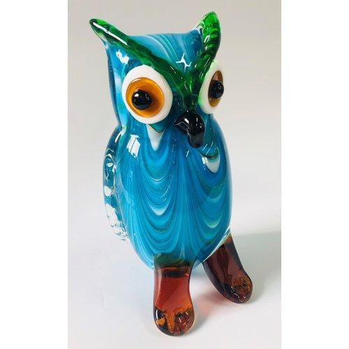 Figurine glass Owl 3