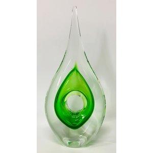 Glasskulptur Gerade