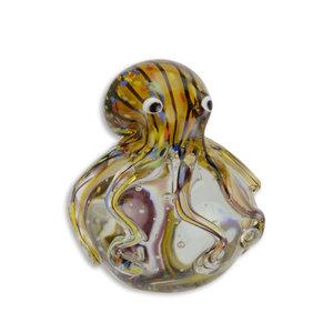 Glazen beeld muranostijl octopus