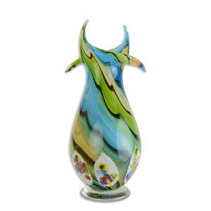 Glazen muranostijl vaas