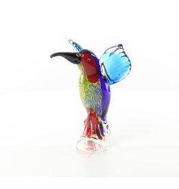 Muranostijl beeld glas ijsvogel