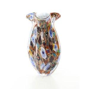 Vase glass murano style