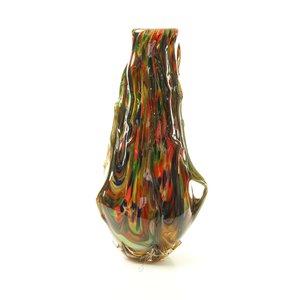 Murano style vase glass