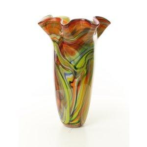 Muranstijl glazen vaas