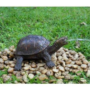 Eliassen Spuitfiguur brons schildpad