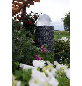 Ubbink Water ornament with rotating glass globe Las Palmas