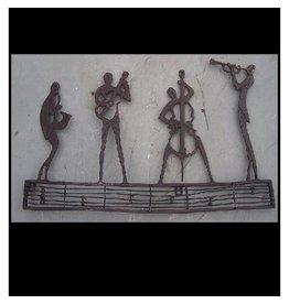 Eliassen Wanddekoration Bronze Orchester