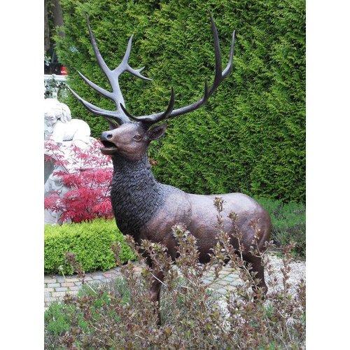 Eliassen Beeld brons hert groot