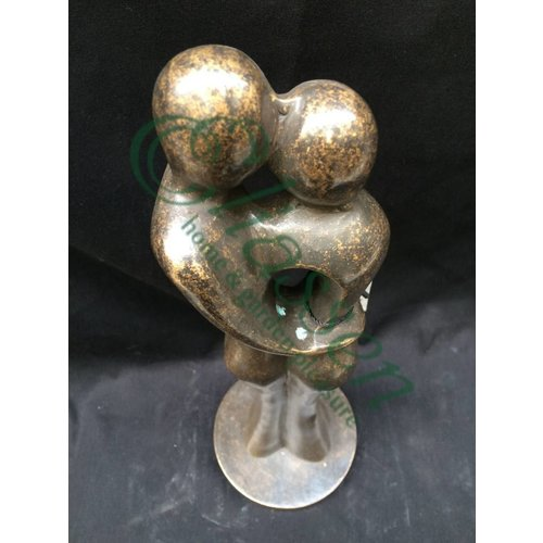 Eliassen Beeld brons abstract liefdespaar klein