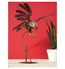 Eliassen Iron figure eagle in dive