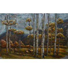 Eliassen 3D schilderij metaal 80x120cm Curious