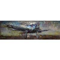 3D-Malerei Metall 180x60cm Hunter