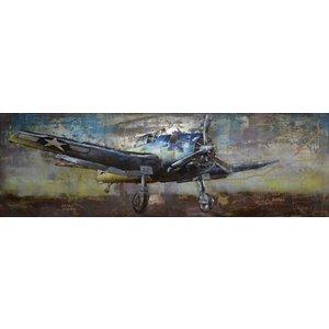 Eliassen 3D painting metal 180x60cm Hunter