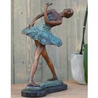 Beeld brons ballerina 31 cm