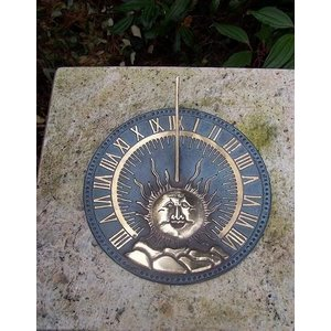 Eliassen Sundial bronze flat sun