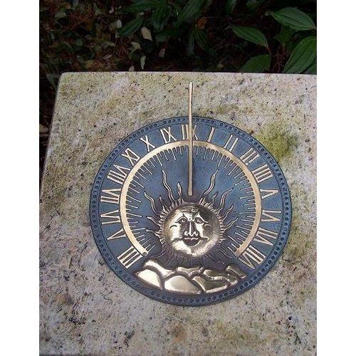 Eliassen Zonnewijzer brons plat zon