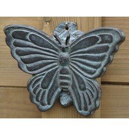 Eliassen Deurklopper brons vlinder