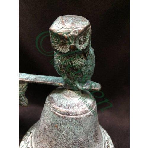 Eliassen Bel brons met uil